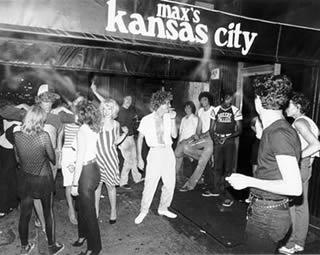Max's Kansas City-  balada de músicos em Nova York em 1980
