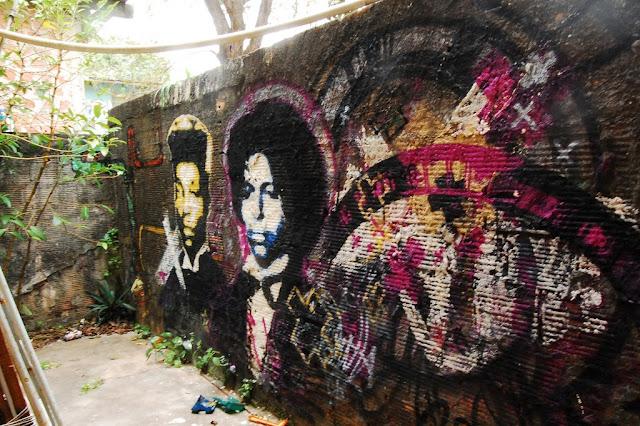 Grafitti nas ruas de Salvador-2009.