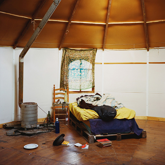 A yurt, Sierra Nevada, Spain, 2013.