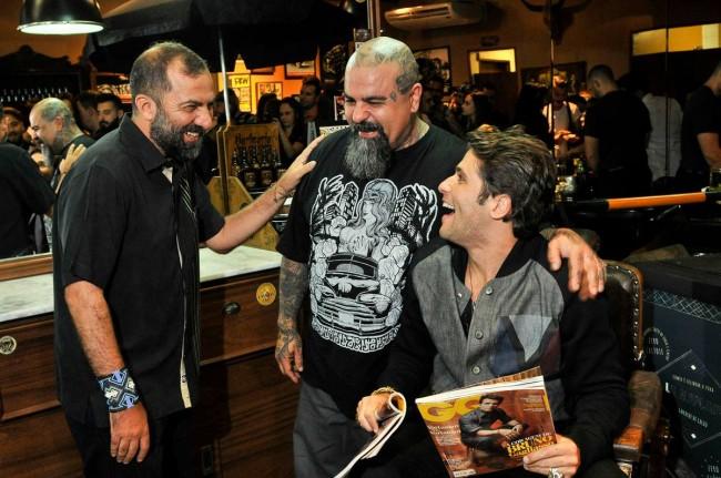 Alberto Hiar, Marinho e Bruno Gagliasso