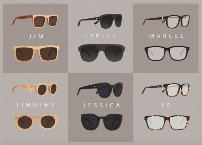 ccb059810 São todos feitos a mão em acetato nobre ou madeira, as lentes possuem  proteção UVA/UVB. São mais de 10 modelos, em diversas cores para combinar  com cada ...